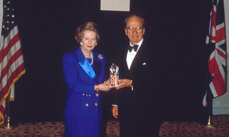 MARGARET THATCHER AND RUPERT MURDOCH